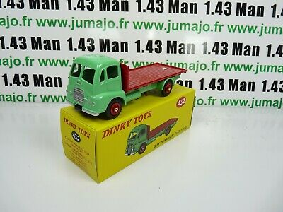 DT99 Voiture réédition DINKY TOYS atlas : 432 Guy Warrior Flat Truck UK