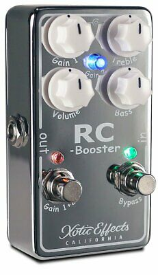 Xotic RCB-V2 Effects Pedal Over Drive RC Booster V2 EMS w/ Tracking NEW