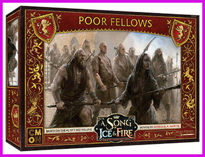 SONG OF ICE and Fire Miniatures: Lannister Poor Fellows: PREORDER