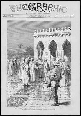 1892 Antique Print - AFRICA MOROCO Sir Charles Euan Smith Court Mission (205)