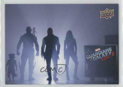 2017 Upper Deck Guardians of the Galaxy Volume 2 Red 24/49 #90 Movie Poster 0ad