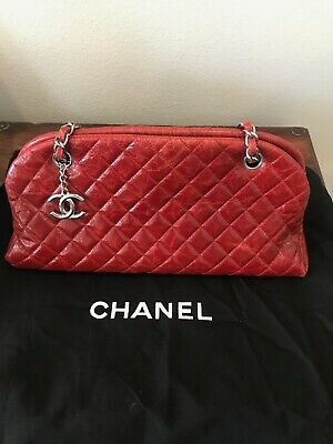 c459d431578a6d CHANEL QUILTED AGED Calfskin Mademoiselle Bowling Bag - $1,799.00 ...