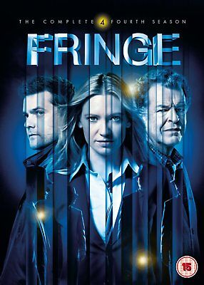 Fringe Season 4 Complete DVD + UV Copy Sci-Fi Drama TV Series Region 2 New