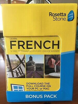 Rosetta Stone Bonus Pack French (2-Year Subscription) - Android|Mac|Windows|iOS