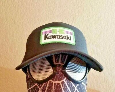 a304c34c Kawasaki Trucker Hat Cap new not Vintage MX motorcycle dirt bike motocross  ama