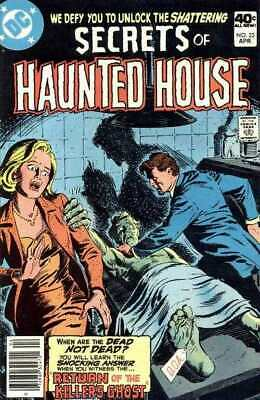 Secrets of Haunted House #23 in Very Fine minus condition. DC comics [*9r]