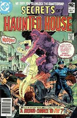 Secrets of Haunted House #24 in Very Fine minus condition. DC comics [*m5]