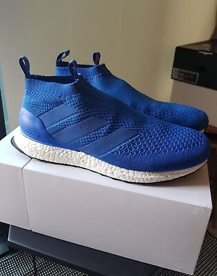 size 40 4403b ad326 adidas ACE 16+ Purecontrol Ultra Boost Ultraboost, Blue, 11US, Worn Once