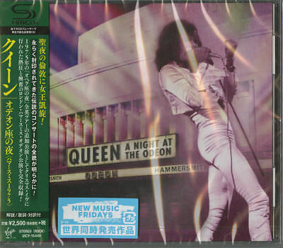 Queen-A Night At The Odeon - Hammersmith 1975-Japan Shm-Cd F56