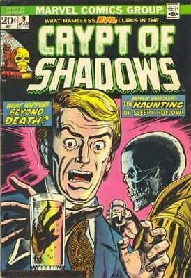 Crypt of Shadows (1973 series) #9 in VF minus condition. Marvel comics [*px]