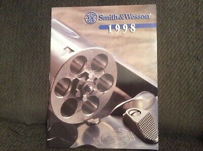 SMITH & WESSON 1998 catalog softcover 31 pages ~ handguns