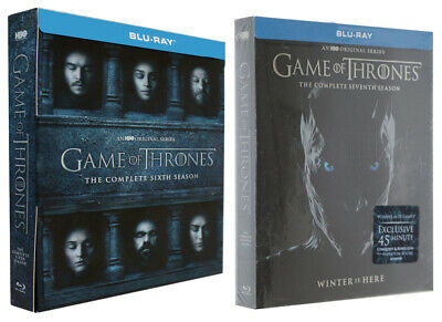 Game of Thrones Season 7 Complete Blu-ray No Digital free Shipping from USA