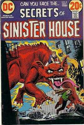 Secrets of Sinister House #8 in Very Fine minus condition. DC comics [*um]