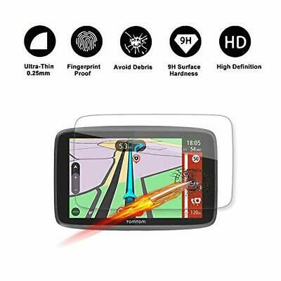 Tempered Grlass Screen Protector for TomTom GO 620 6200 6250 GPS 6In Navigation