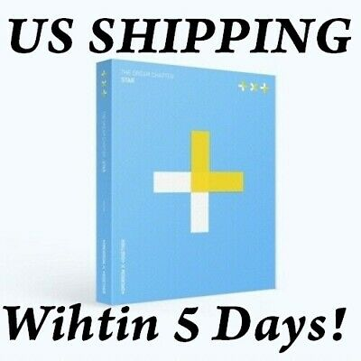 [US SHIPPING] TXT The Dream Chapter:Star CD+POSTER+Photobook+PhotoCard+etc+Track