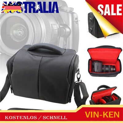 SLR DSLR Lens Camera Bag Carry Case For Nikon Canon EOS Sony Olympus Cover Chic