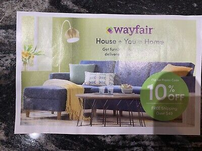 Wayfair 10% off ENTIRE purchase exp 5/31/2019, Valid on FIRST ORDER only