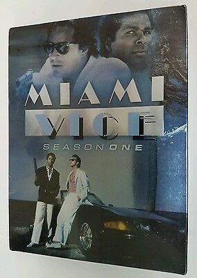 Miami Vice - Season 1 (DVD, 2005, 3-Disc Set)- BRAND NEW  FACTORY SEALED