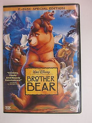 Brother Bear (DVD, 2004, 2-Disc Set, Special Edition)- FREE SHIPPING