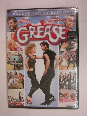 Grease - JOHN TRAVOLTA - (DVD, 2013) BRAND NEW   FACTORY SEALED   FREE SHIPPING