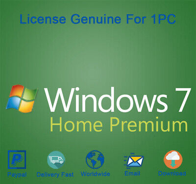Windows 7 Home Premium Download for 32 and 64 Bit Genuine
