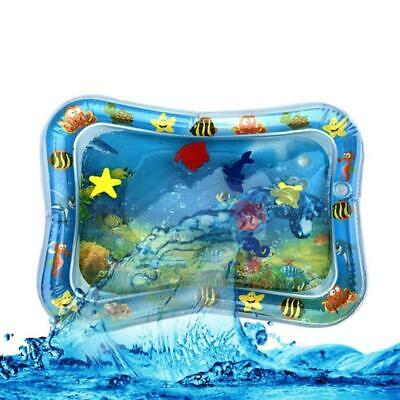 Best Tummy Time Water Play Mat for Kids Baby,Large (66x50cm),6 sea toys in mat