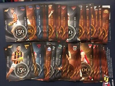 AFL 2019 Select Footy Stars MILESTONE GAMES cards - PICK YOUR CARD BULK LOTS