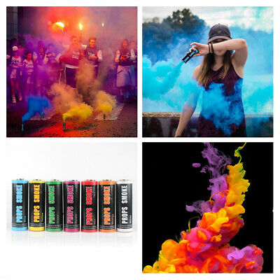 Smoke Colorful Round Bomb Effect Show Background Photography Pull Ring MV Tool