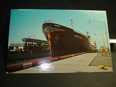 Ship The VENTURE, LIBERIA Naval Cover 1986 CORNWALL, ONTARIO, CANADA