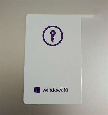 Carte Licence windows 10 pro professionnel 32 64bit retail neuf
