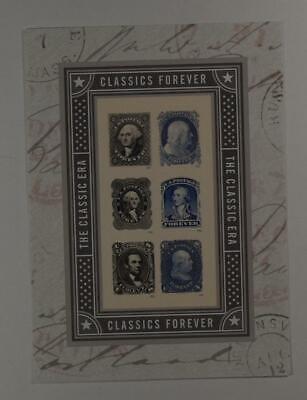 Us Scott 5079 Pane Of 6 The Classic Era Presidential Forever Stamps Mnh