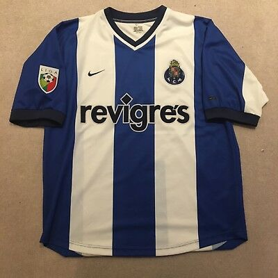 Nike Porto Football Shirt Size Xl Revigres La Liga