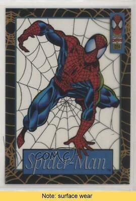 1994 Fleer Marvel Cards The Amazing Suspended Animation #1 Spider-Man READ 5xh