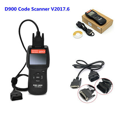 USA D900 Any car OBD2 EOBD CAN Fault Code Reader Scanner diagnostic scan tool