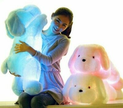 Plush Toys 50CM Length Creative Night Light LED Stuffed Gifts For Kids Friends