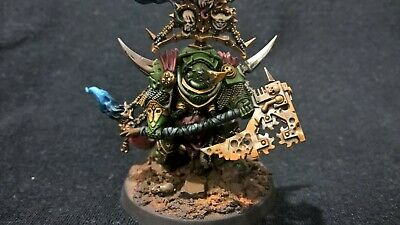 Warhammer 40000 Chaos Space Marine Death Guard Lord Of Contagion