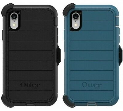 New Authentic OtterBox Defender PRO Series For iPhone XR Case & Holster Clip