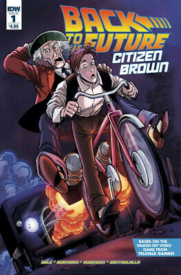 Back To The Future IDW comic NEW #t0 Sub Cover variant Continuum Conundrum Pt.5