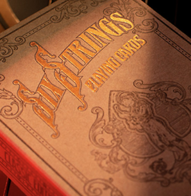 Limited Edition Six Strings Playing Cards - LIMITED