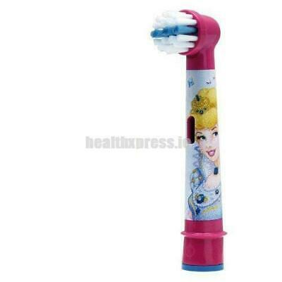 Oral-B Stages Kids Disney Princess Electric Toothbrush Replacement Heads 4-Pack