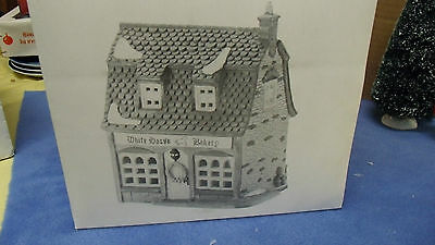 Department 56 Dickens' Village Series White Horse Bakery