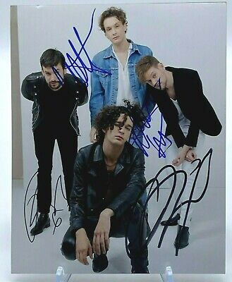 The 1975 Group Signed 10x8 Photo AFTAL OnlineCOA