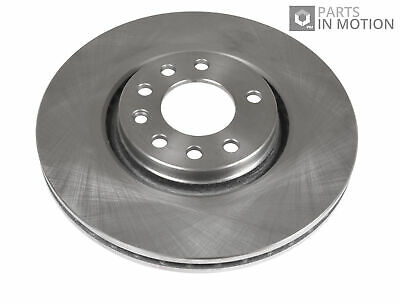 SAAB 9-5 YS3E 2x Brake Discs (Pair) Vented Front 2.3 3.0 3.0D 99 to 09 308mm Set