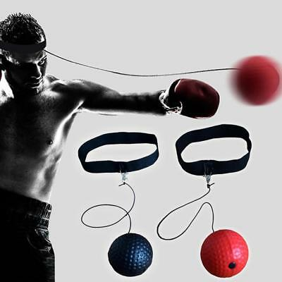 Fight Ball Reflex Boxing Trainer Training Boxer Speed Punch Head Cap String Fast