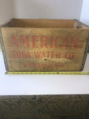 Antique American Soda Water Co Milwaukee WIS