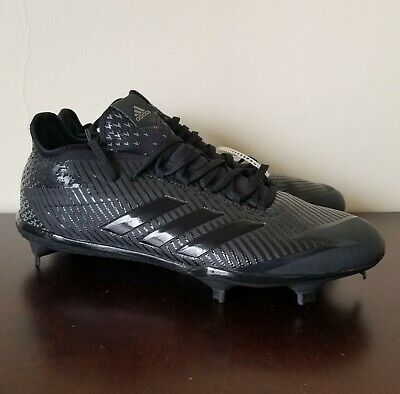 adf90cada Adidas Men s Adizero Afterburner 4 Baseball Cleats Black Size 10.5 B39159