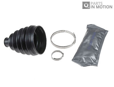 Driveshaft New AUDI ALLROAD C5 2.5D CV Joint Boot Kit Front Outer 00 to 05 C.V