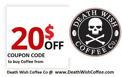 $20 OFF Coupon - Death Wish Coffee