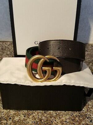 c57ed57c334 GUCCI WEB BELT with Double G buckle -  295.00