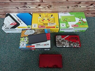 Nintendo Konsole 3ds/ 3ds XL/ New 3ds/ Limited Edition (Pikachu, Yoshi, Smash)